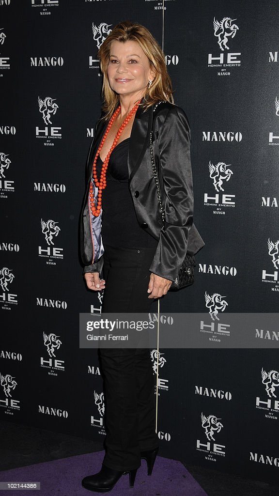 The top model Priscilla de Agustin in the inauguration of 'Mango', a shop for men, 2nd April 2009, 'Pacha', Madrid, Spain.