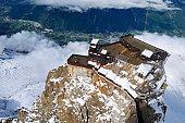 The Top of Aiguille de Midi Mountain