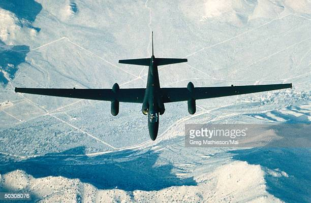 The top secret U2 plane in flight