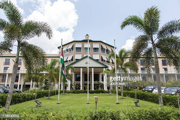 The Torarica Royal Hotel where the VII Regular Meeting of the Council of Heads of State and Government of UNASUR will take place in Paramaribo on...
