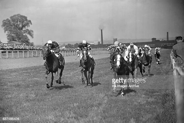 The Tottenham Weltz Plate race at the Alexandra palace racecourse in north London
