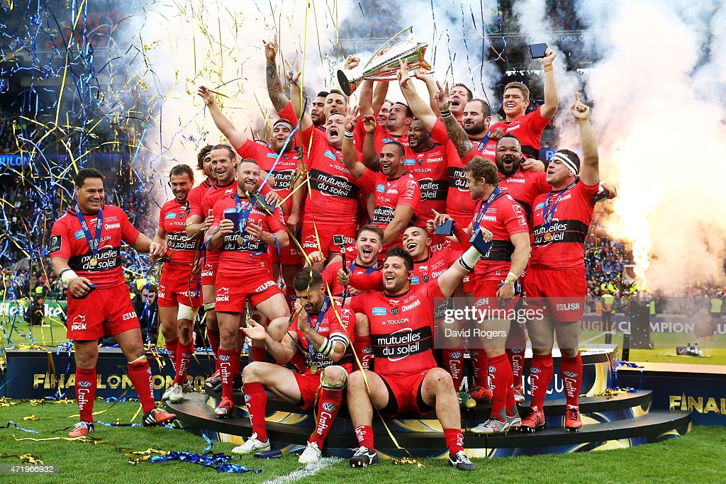 ASM Clermont Auvergne v RC Toulon - European Rugby Champions Cup ...