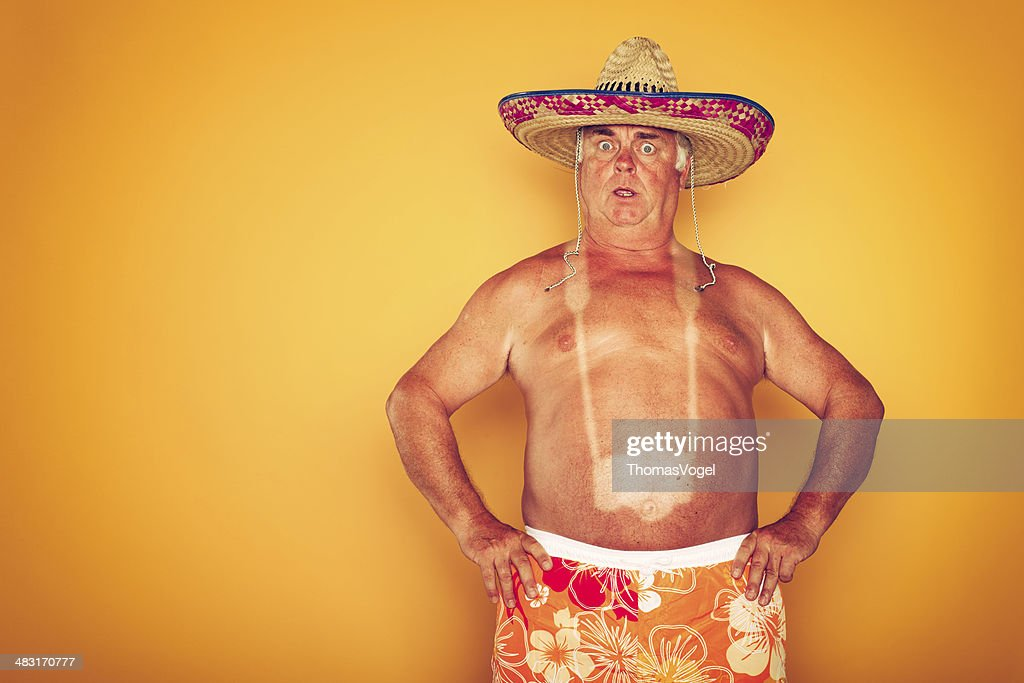 The Tourist - Cool Camera Sombrero Humor Hawaiian : Stock Photo
