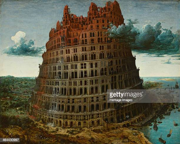 The Tower of Babel c 1565 Found in the collection of the Museum Boijmans Van Beuningen Rotterdam