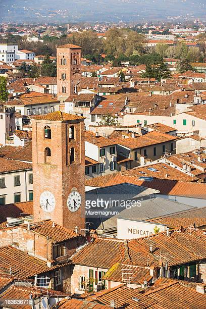 The town from the Torre (tower) delle Ore