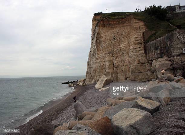 The town of Fecamp in Upper Normandy home to Palais Benedictine is a tapestry of dramatic landscapes and seaside cliffs