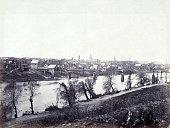 The town of Fredericksburg Virginia just before the American Civil War Battle of Fredericksburg 1862