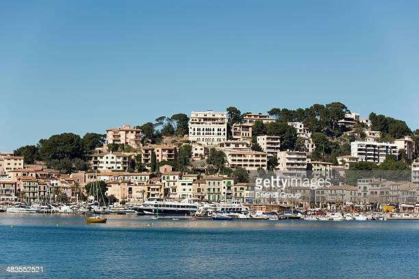 The town of Port de Soller.