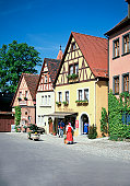 The town of Rothenburg, Romantic Route Road, Germany