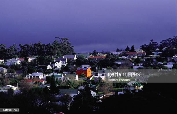 The town of Swellendam that sits at the foot of Langeberg Range