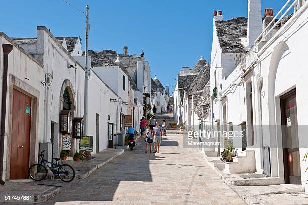 The town with typical consctructions called Trulli