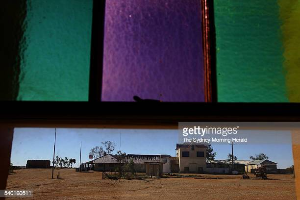 The township of Milparinka population 10 an old mining town near Tibooburra in far northwest New South Wales 18 December 2006 SMH Picture by NICK MOIR