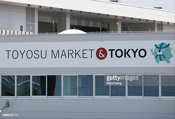 The Toyosu Market stands under construction in Tokyo Japan on Wednesday Aug 31 2016 Yuriko Koike governor of Tokyo announced Wednesday that the move...