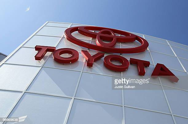 The Toyota logo is displayed on the exterior of City Toyota May 11 2010 in Daly City California Despite massive recalls of Toyota cars and trucks...
