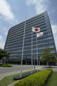 The Toyota Motor Corp headquarters stands in Toyota City Aichi Prefecture Japan on Monday July 4 2011 Toyota Motor Corp the world's biggest carmaker...