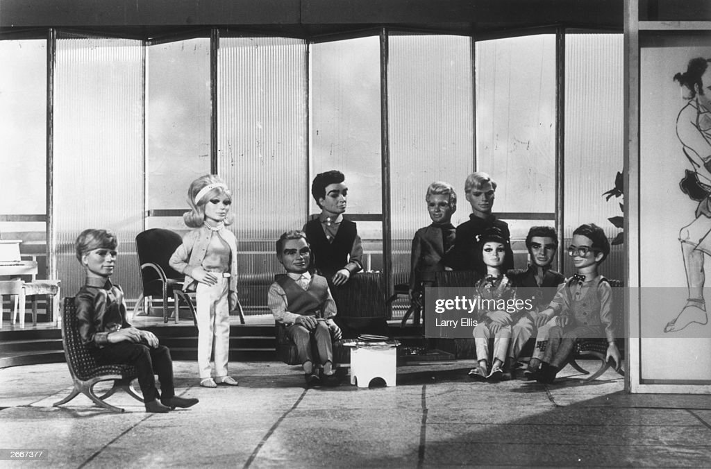 The Tracy family of Gerry Anderson's television series 'Thunderbirds' operate the International Rescue service.