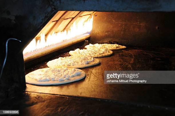The tradition of Manakish Bread, Lebanon