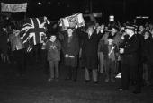The Tragedy Of Ibrox Park During The 21St Day Of Scotland Soccer Championship Ecosse Glasgow 28 avril 1966 A Ibrox Park lors de la 21e journée du...