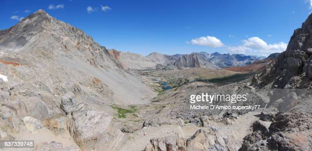 The Trail in the high altitude Sierra Nevada landscape