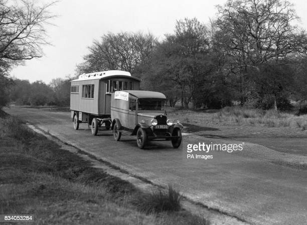 The trailer caravan solving many difficulties for those who want to see Britain Trailers that could be slept in had long been popular with circus...