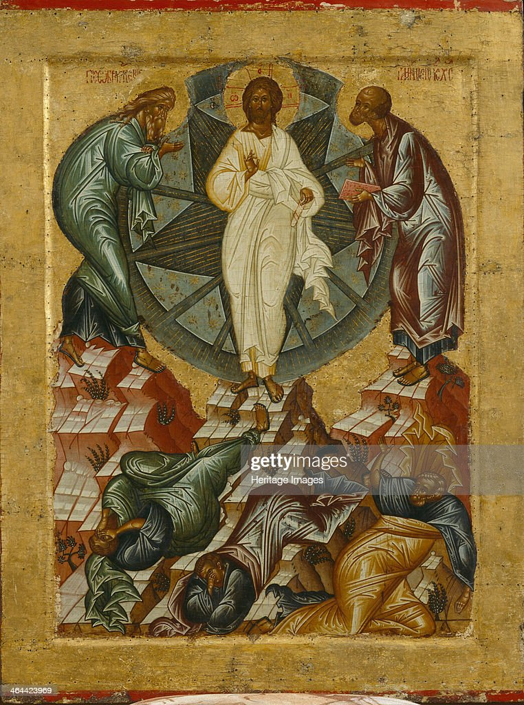 The Transfiguration of Jesus, 1497. Found in the collection of the State Open-air Museum Kirillo-Belozersky Monastery.