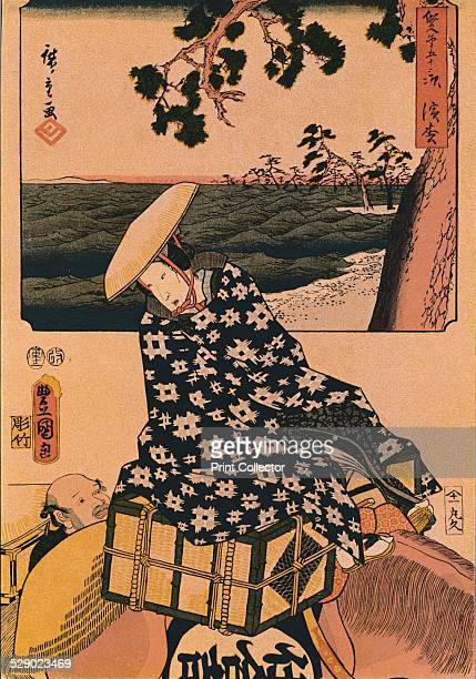 The Travellers 1901 After an original work by Utagawa Kunisada From The Connoisseur Vol I by [Otto Limited London 1901]