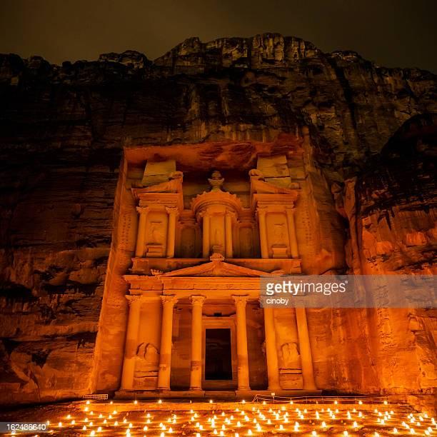 The Treasury - Petra by Night