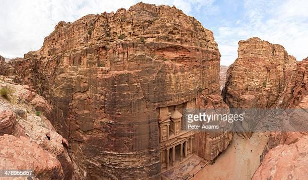 The Treasury, (El Khazneh), Petra, Jordan