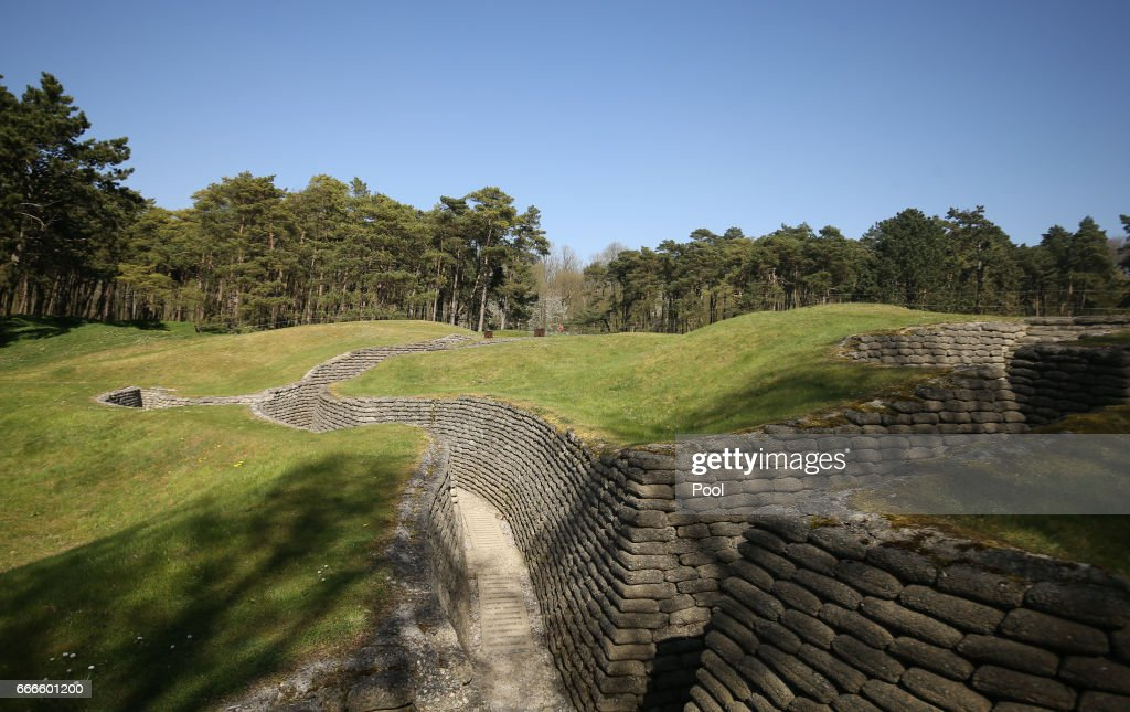 The trenches and tunnels used during the battle of Vimy Ridge are ready for a visit as part of the 100th year anniversary of The Battle Of Vimy Ridge on April 9, 2017 in Vimy, France.