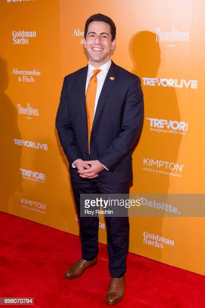 The Trevor Project CEO Amit Paley attends TrevorLIVE New York 2017 at Marriott Marquis Times Square on June 19 2017 in New York City