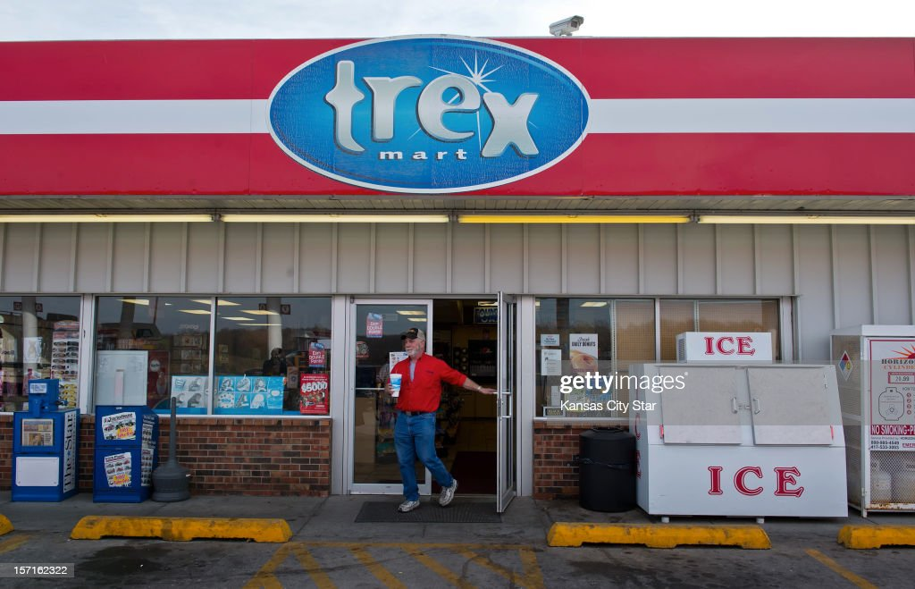The Trex Mart gas station at 17605 Highway Z in Dearborn, Missouri, was one of the locations where the winning Powerball lottery ticket was sold inside the gas station. The location of the winning tickets was announced on Thursday, November 29, 2012.
