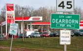 The Trex Mart gas station at 17605 Highway Z in Dearborn Missouri was one of the locations where the winning Powerball lottery ticket was sold inside...