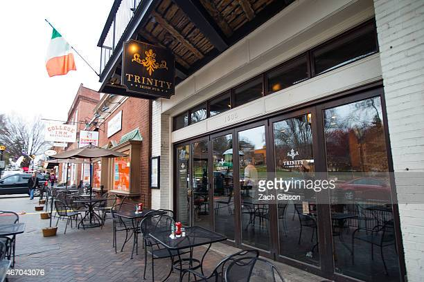 The Trinity Irish Pub is shown March 19 2015 in Charlottesville Virginia Martese Johnson is the black University of Virginia student whose face was...