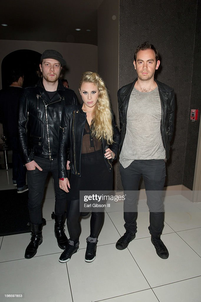 The trio known as Nero attend the 40th Music Awards Celebrates Electronic Dance Music at Nokia Theatre L.A. Live on November 16, 2012 in Los Angeles, California.