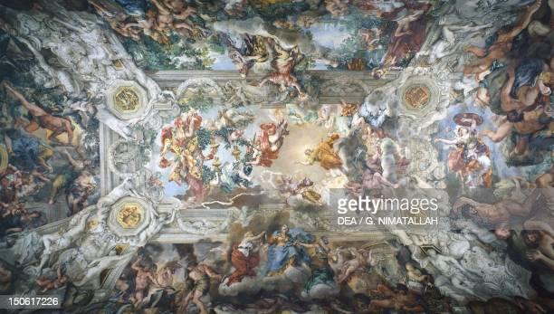 The Triumph of Divine Providence 16321639 by Pietro da Cortona fresco 24x14 m Palazzo Barberini Rome