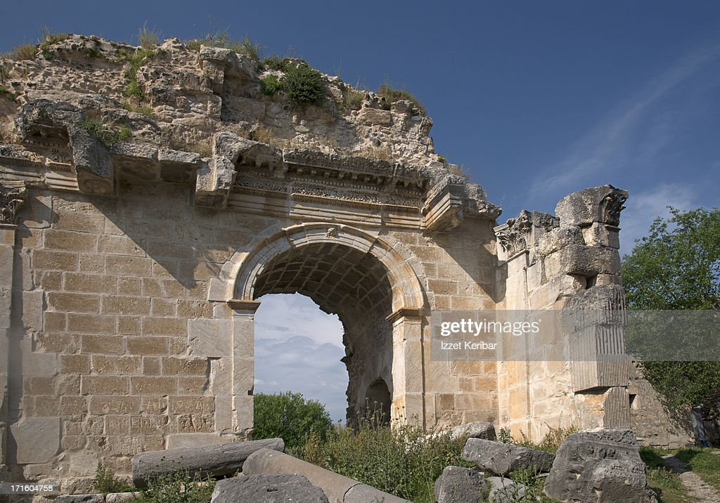 The Triumphal arch converted to South Gate