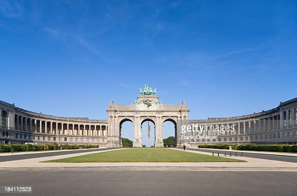 El arco triunfal en Bruselas