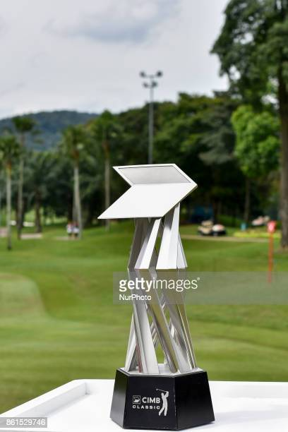The Trophy of the CIMB Classic 2017