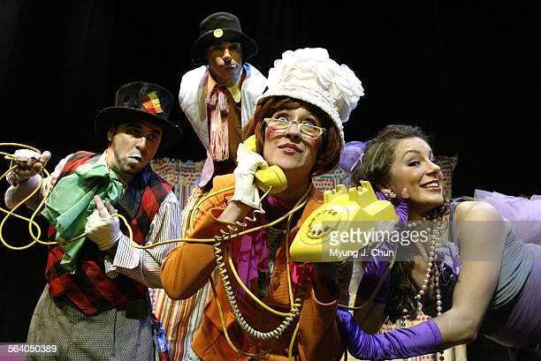The Troubadour Theatre Company's Funky Punks Michael Sulprizio Dan Waskom Beth Kennedy Brienne Pedigo and the rest of the cast bring Vaudeville...