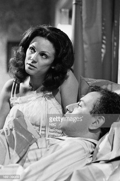 THEATRE 'The Trouble with People' Pictured Valerie Harper as Wife Alan Arkin as Husband in 'Double Trouble'