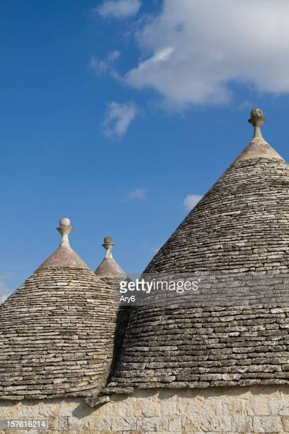The Trulli are ancient houses in Apulia region ( ITALY)