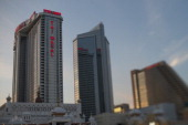 The Trump Taj Mahal building stands in Atlantic City US on Thursday July 17 2014 Once the East Coast's gambling hub Atlantic City has suffered as...