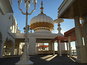 The Trump Taj Mahal casino sits along the boardwalk on August 28 2015 in Atlantic City New Jersey New casinos in neighboring states have drawn much...