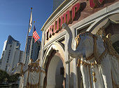 The Trump Taj Mahal casino stands open for business on August 28 2015 in Atlantic City New Jersey New casinos in neighboring states have drawn much...