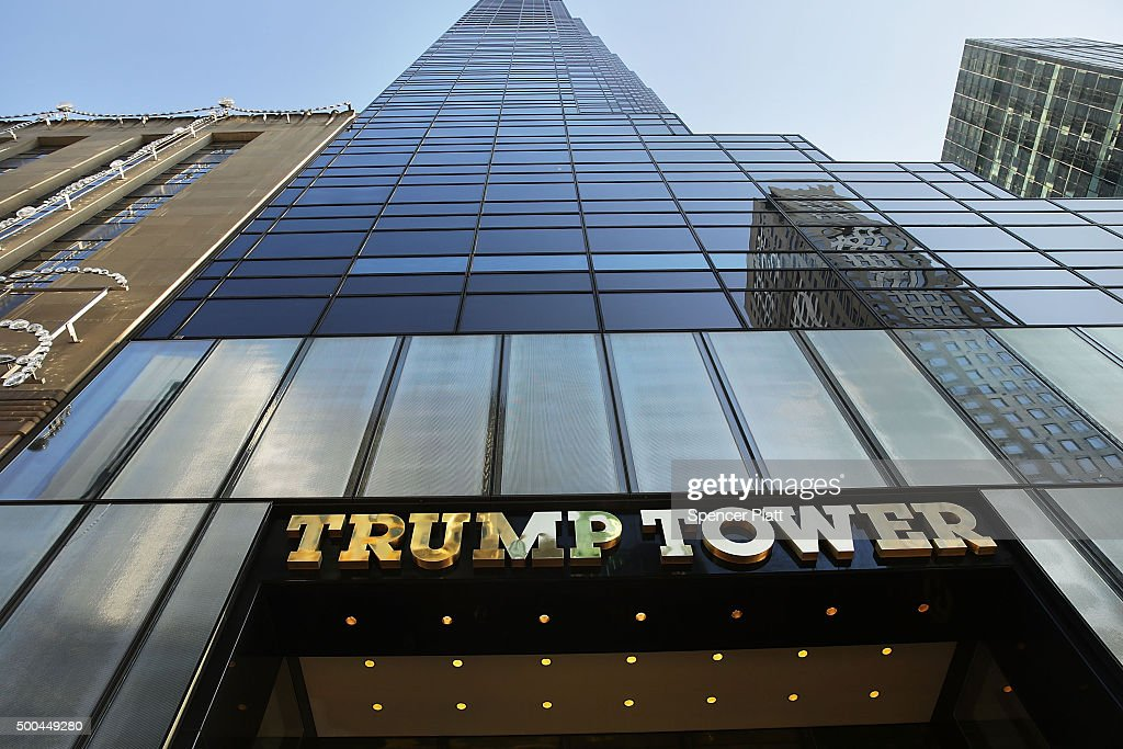 The Trump Tower in Midtown Manhattan is seen on December 8 2015 in New York City Donald Trump's latest incendiary remarks concerning Muslims has led...
