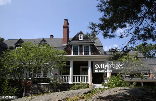 The TS Eliot House in Gloucester MA is pictured on Aug 16 2017