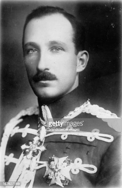 The tsar Boris III of Bulgaria Photograph About 1930 König Boris III von Bulgarien Photographie Um 1930