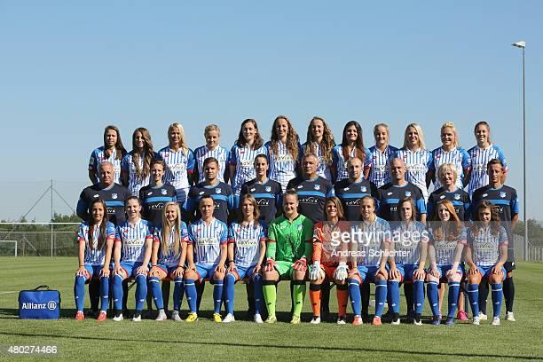 the TSG Hoffenheim Team Nicole Billa Anne Fuehner Stephanie Breitner Leonie Keilbuch Christine Schneider Tamar Dongus Fabienne Dongus Katharina Kiel...