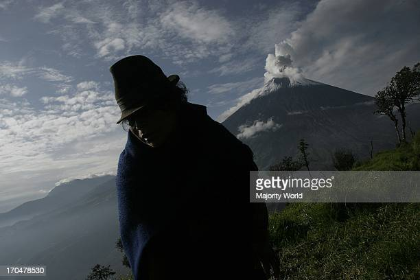 The Tungurahua an active volcano in the Cordillera Central of Ecuador erupted on July 14th and August 16th of 2006 devastating life in the small...
