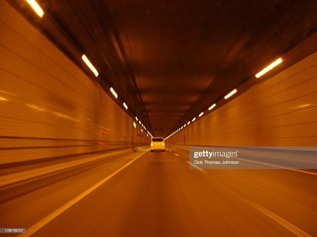 The tunnel of Haneda
